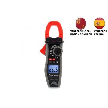 Pinza amperimétrica 400A CA TRMS completa CAT III 600V, VENDEDOR LOCAL REGIÓN DE MURCIA, ESPAÑA