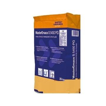 MasterEmaco S 5450 PG (Mortero de reparación estructural sulforresistente de fraguado rápido)