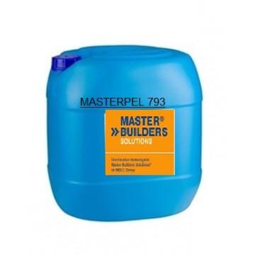 Producto Master Builders Solutions, aditivo hidrofugante, garrafa 25 kg.