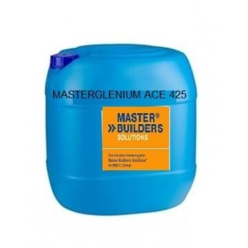 Producto de Master Builders Solutions, Aditivo superplastificante, garrafa 25 kg.