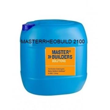 Producto de Master Builders Solutions, aditivo para hormigón, garrafa 25 kg.