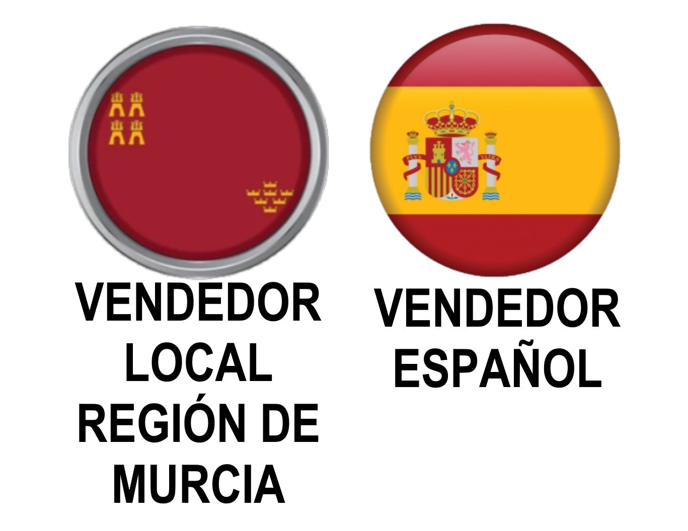 VENDEDOR LOCAL DE LA REGIÓN DE MURCIA, ESPAÑA