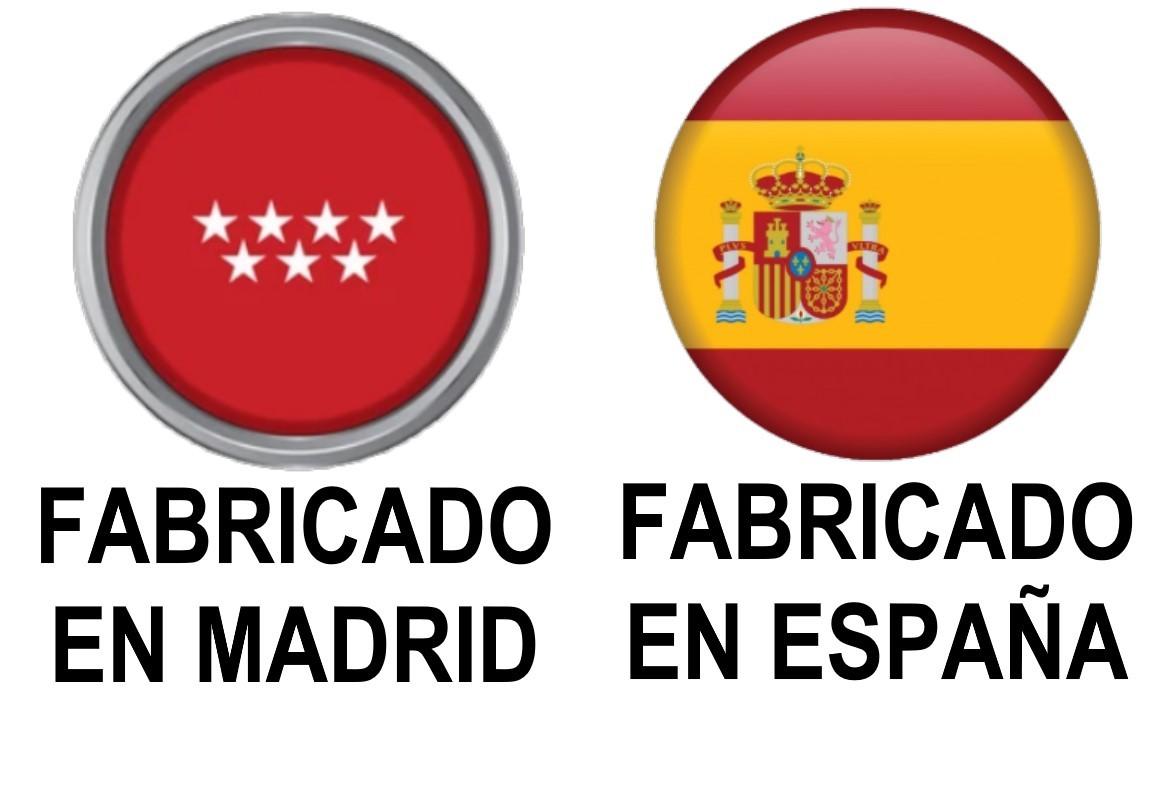 FABRICADO EN MADRID, ESPAÑA