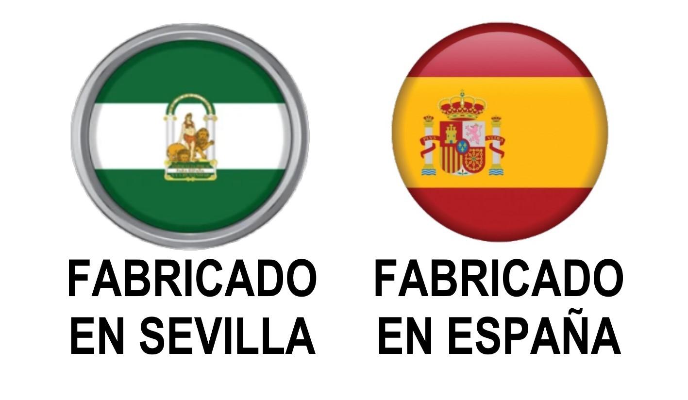 FABRICADO EN SEVILLA, ESPAÑA