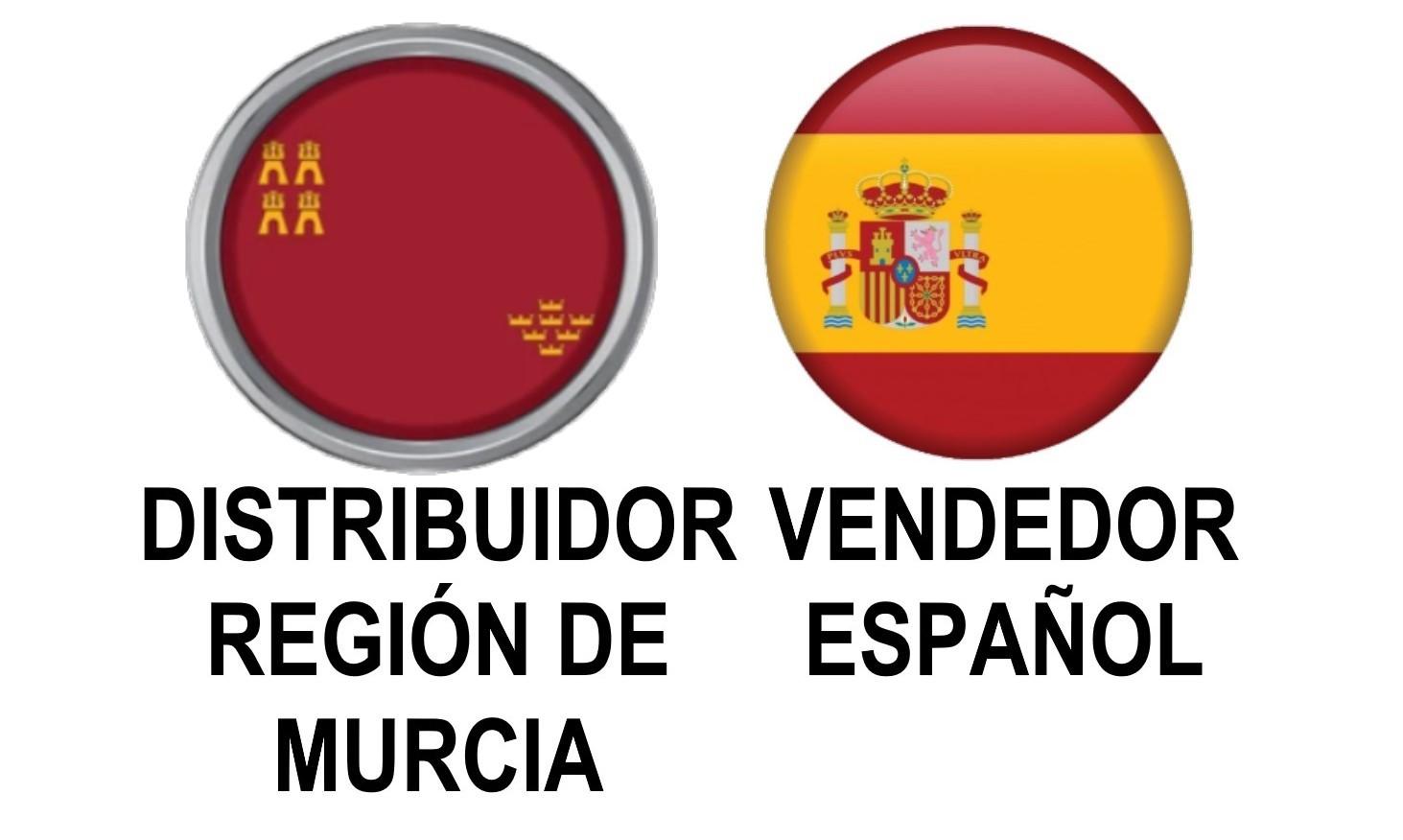DISTRIBUIDOR DE LA REGIÓN DE MURCIA, ESPAÑA